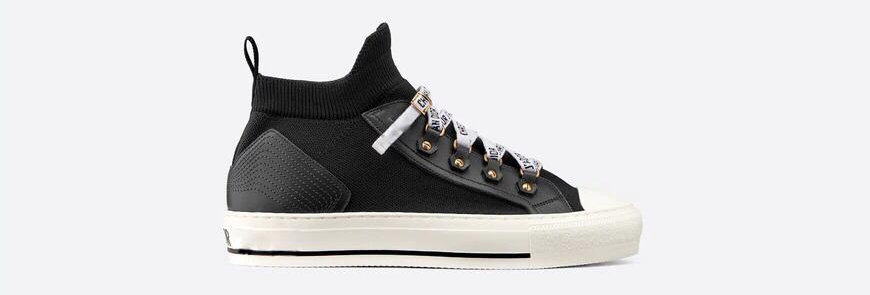 WN technical knit mid-top sneaker