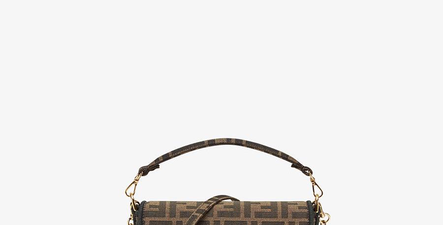 MINI FB brown fabric bag
