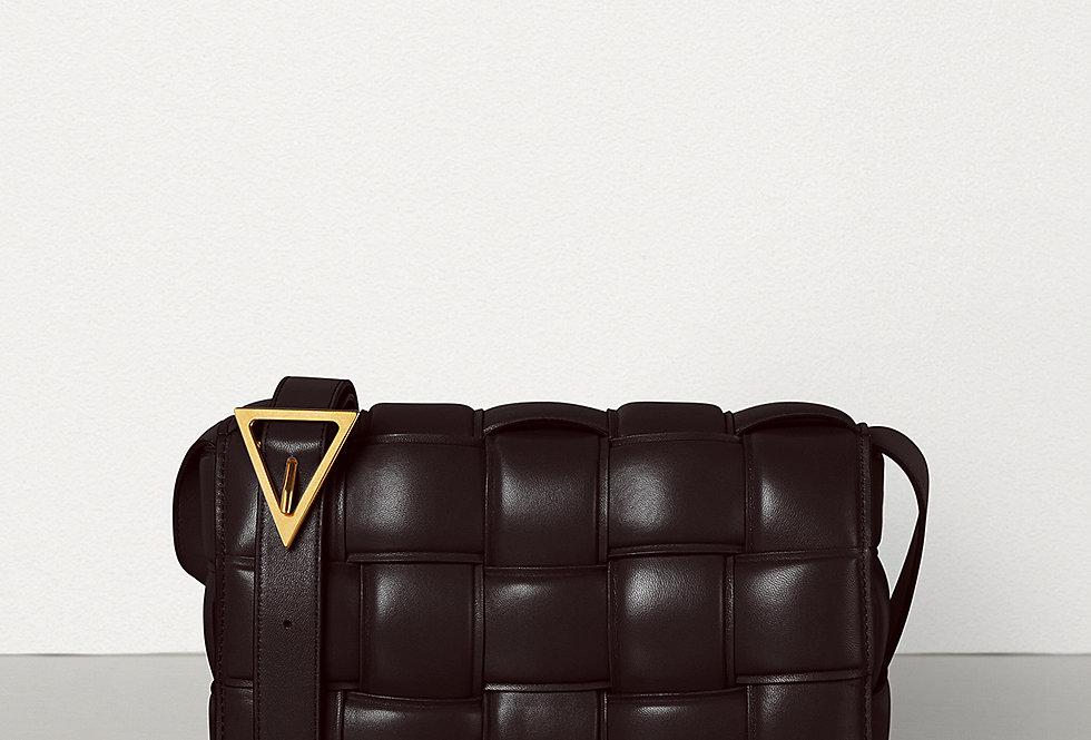 Dark brown BC padded shoulder bag