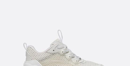 White mesh DC sneaker