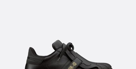 Black D-ID sneaker