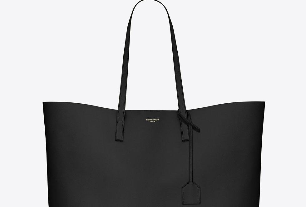 Black E/W shopping bag