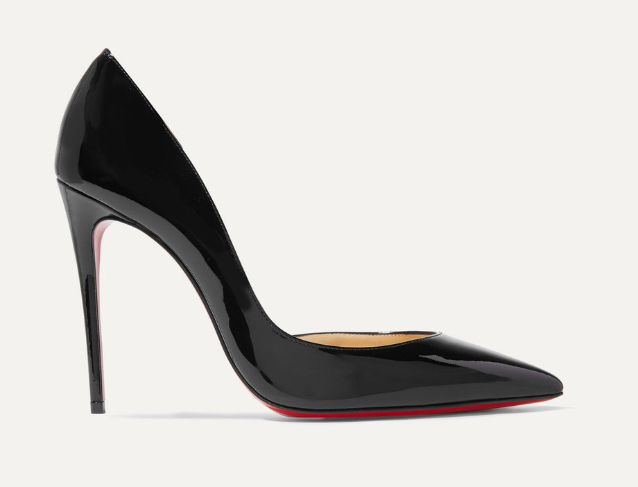 CLI 100 patent-leather pumps