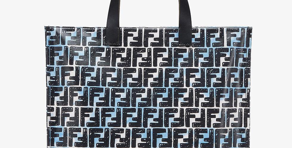 Glazed canvas SF bag
