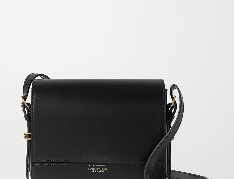 BB Small Leather Shoulder Bag