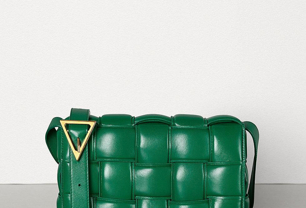 Green BC padded shoulder bag
