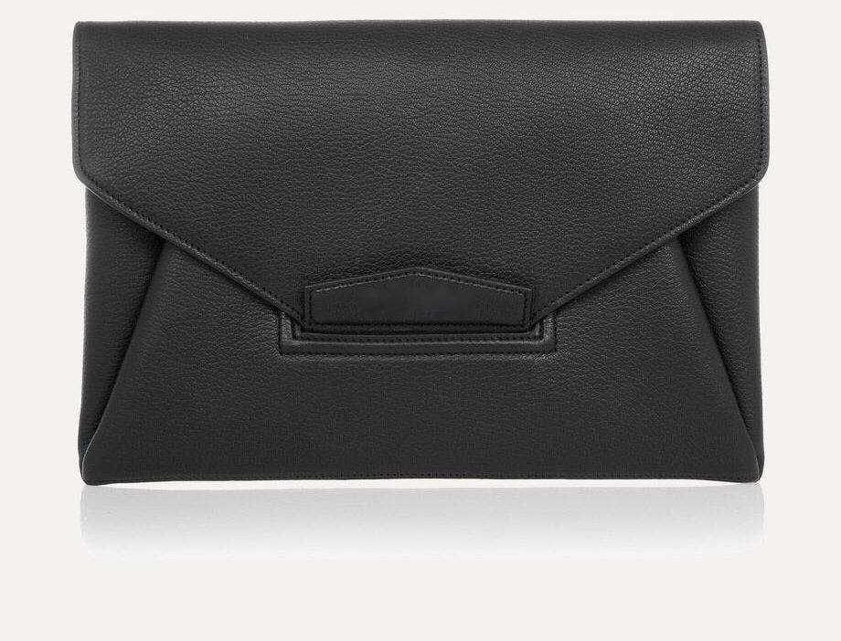 GA Textured-Leather Clutch