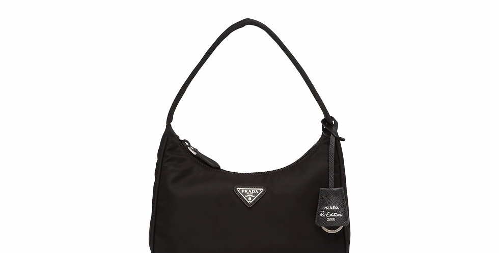 Black PRE 2000 nylon mini-bag