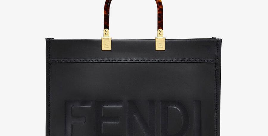 Black FS tote bag