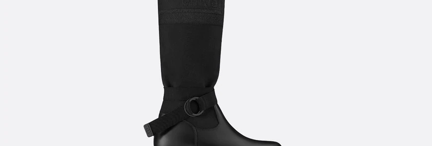 Black DM boot