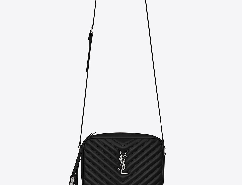 Black LC in silver metal bag