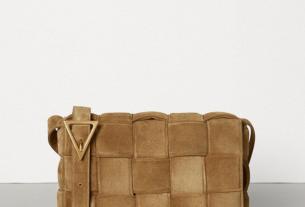 Caramel BC padded shoulder bag