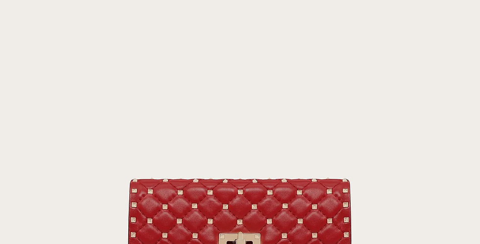 Rosso RS leather crossbody clutch bag