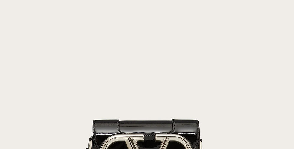 Small  VS black patent crossbody bag