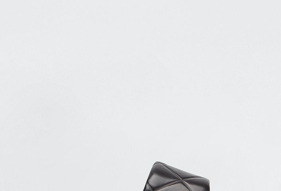 Black RL flat sandals