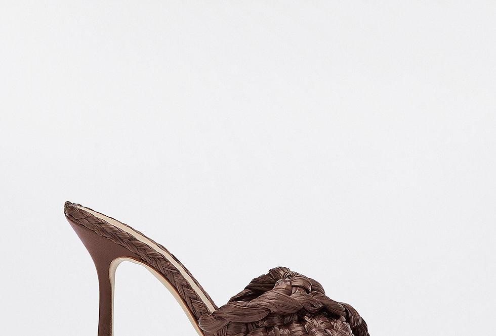 Bitter chocolate BS sandals