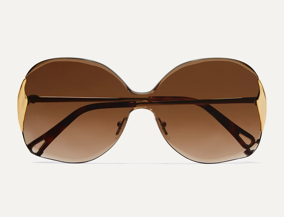 CC square-frame sunglasses
