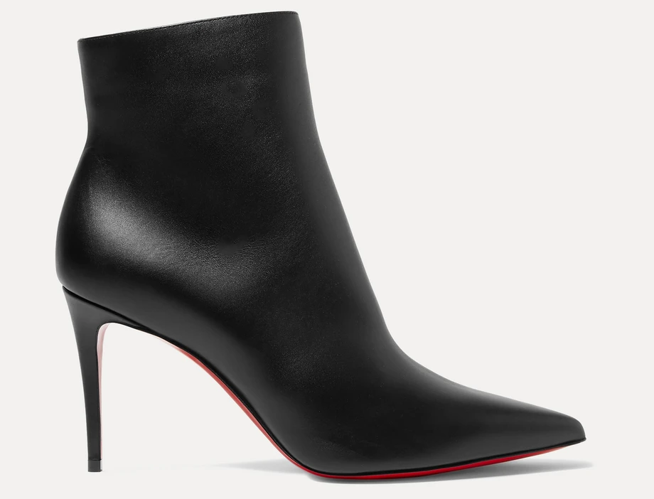 Black SK 100 ankle boots