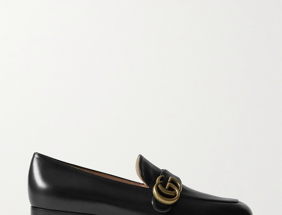 GM leather loafers