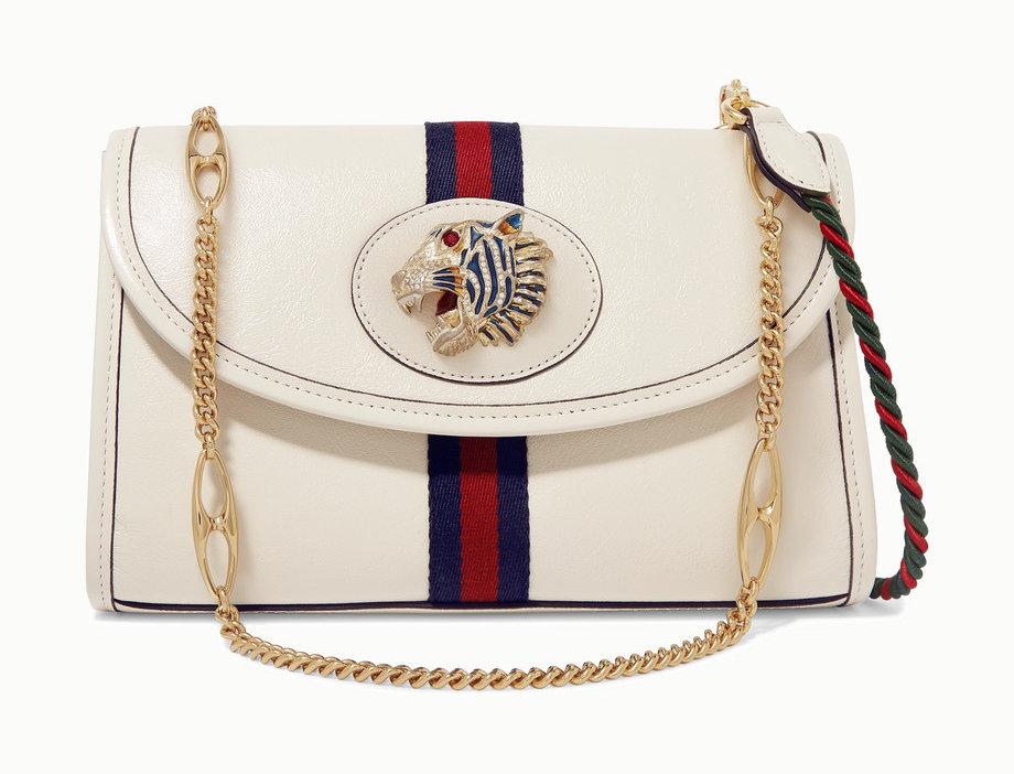 GR small embellished leather shoulder bag