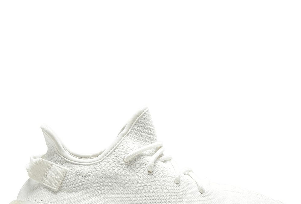 White AY Boost 350 sneakers