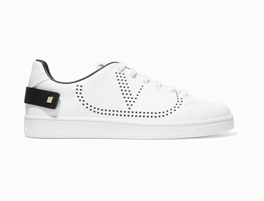 VGB perforated leather sneakers