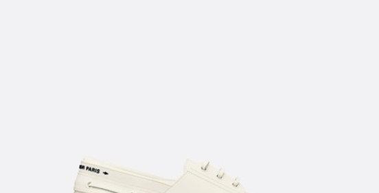 White D walker boat shoe