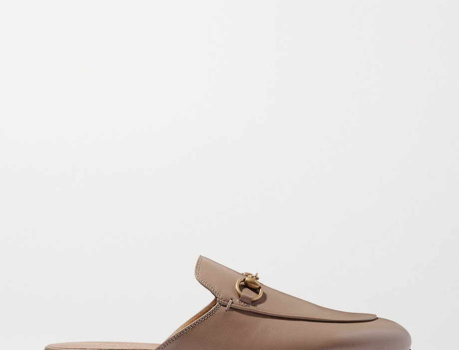 GP leather slippers