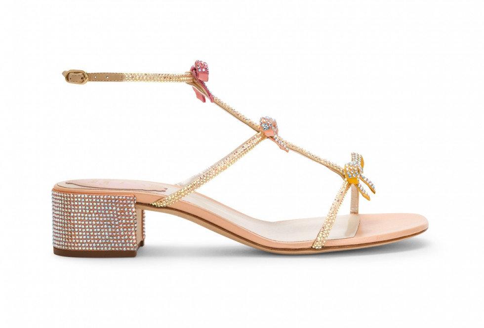 Peach-pink RC sandal