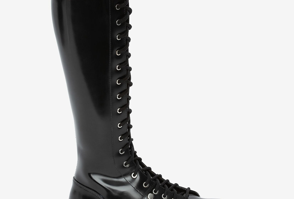 Black MT lace up boot