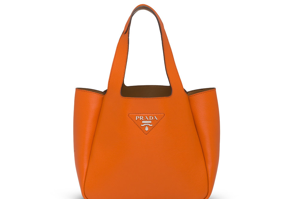 Orange PL paque tote bag