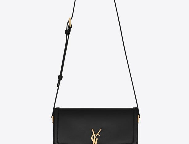 Black SS medium shoulder bag
