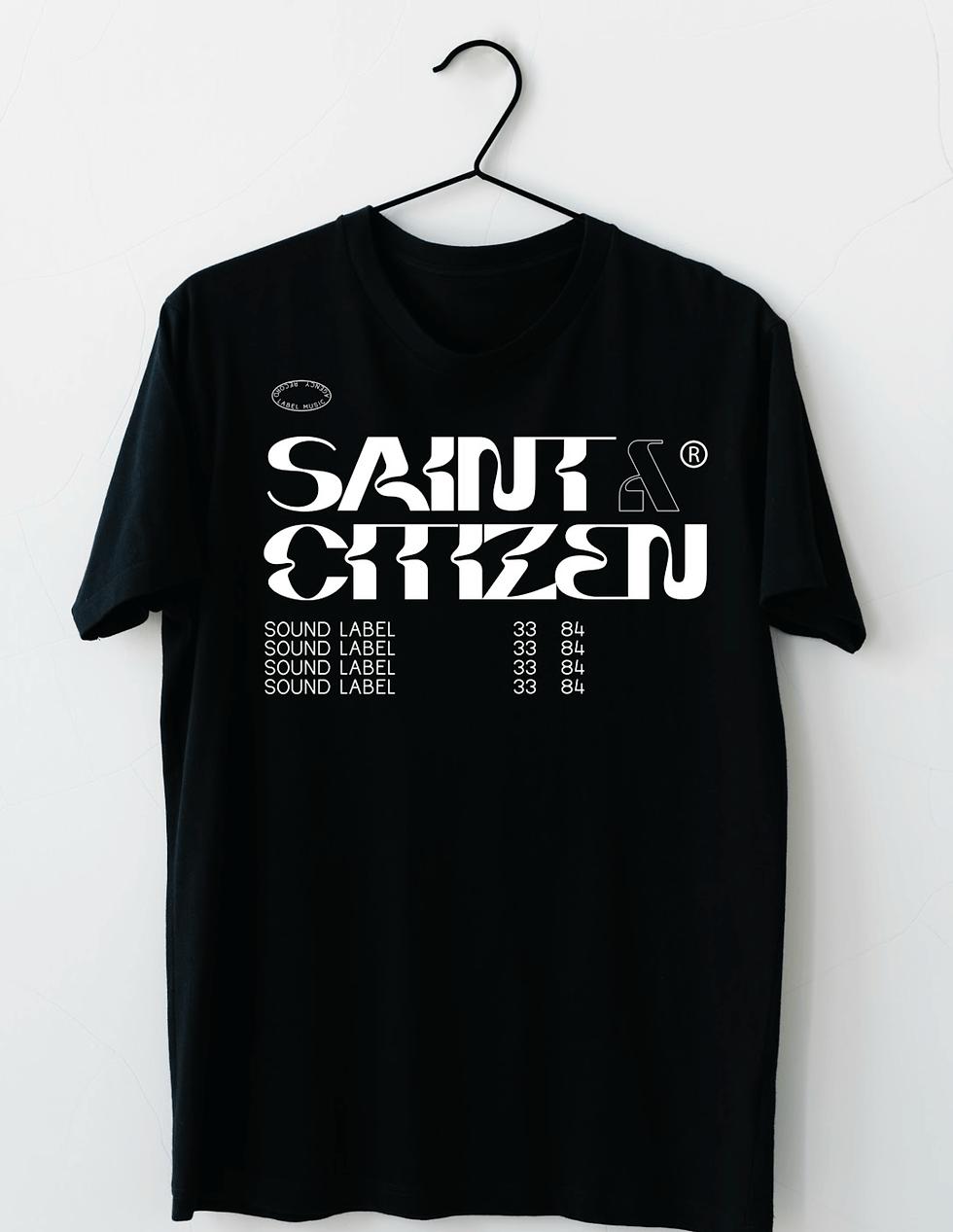 Saint & Citizen Records Branding and Merch Design