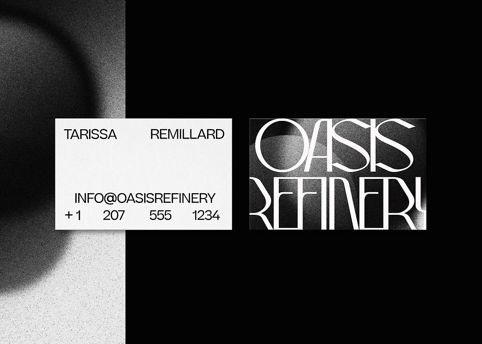 Oasis Refinery Branding and Packaging Design