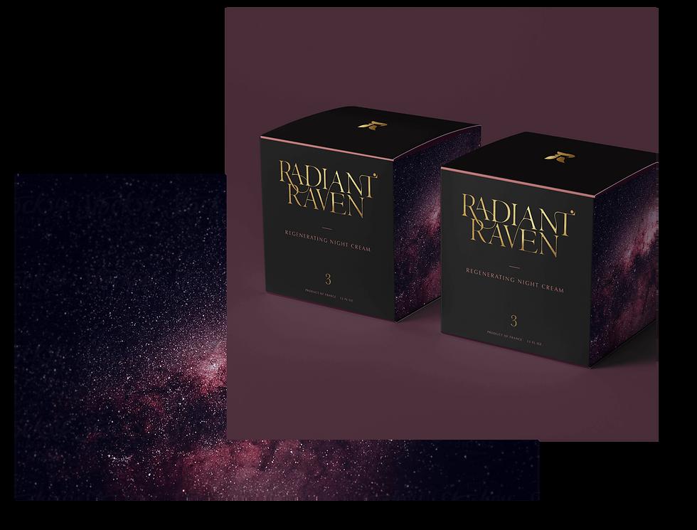 Radiant Raven More Packaging of Studio Linear