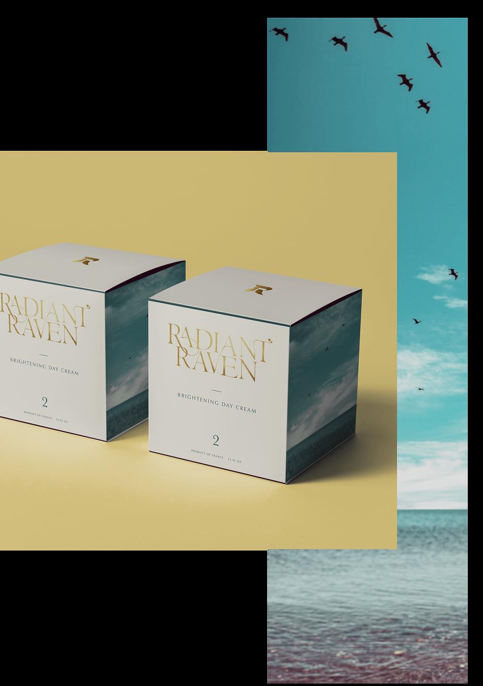 Radiant Raven Branding and Packaging Design