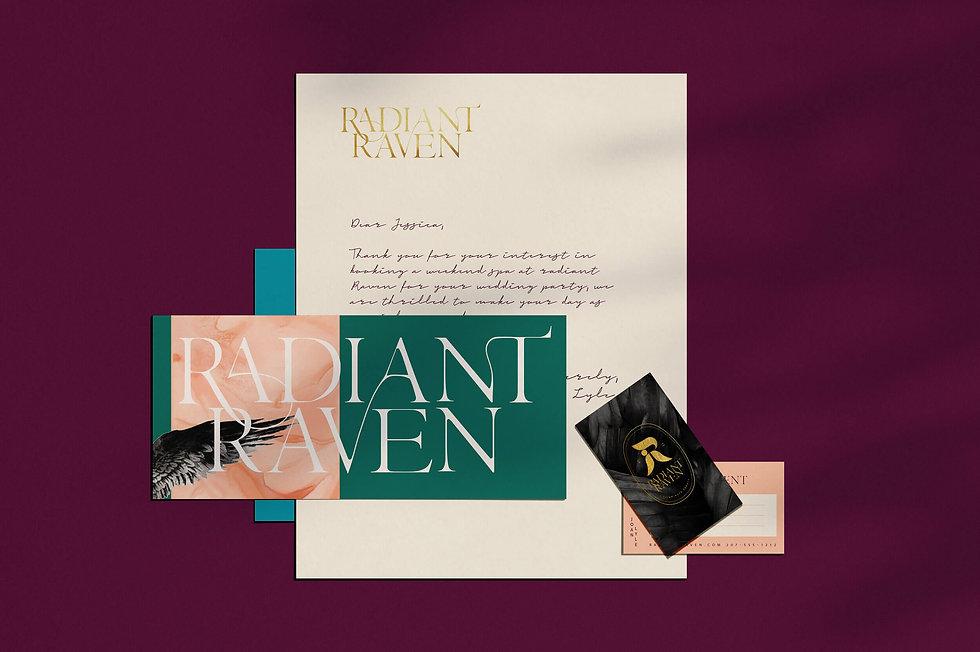 Radiant Raven by Studio Linear