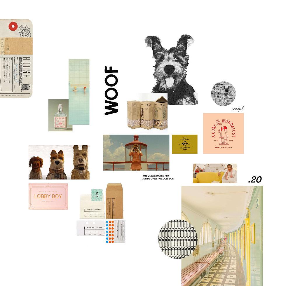 Garbo The Dog Branding of Studio Linear