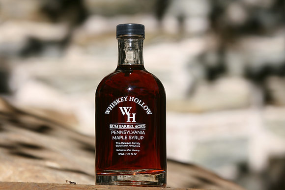 Rum Barrel Aged Maple Syrup - 375ml