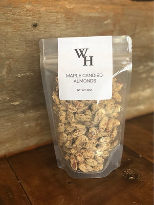 Maple Candied Almonds