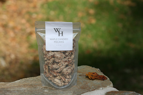 Maple Candied Pecans - 8 oz.