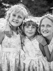 Flower girls & Bridesmaids