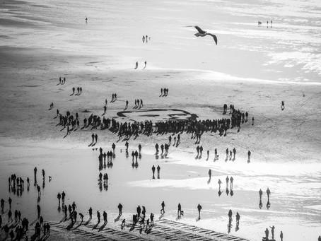 Danny Boyle's Pages of Sea 14-18 NOW Saunton Sands Beach