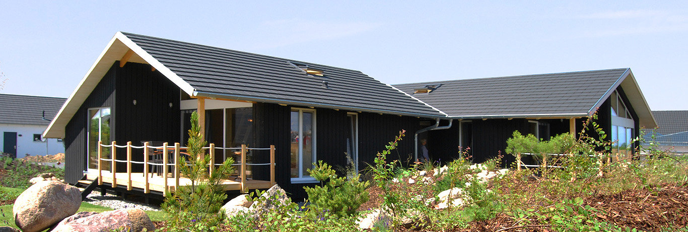 Ferienhaus an der Ostsee im Dänischen Stil, Holzferienhaus, günstig