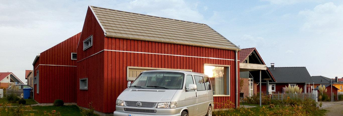 Ferienhaus an der Ostsee im skandinavischem Stil