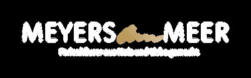meyers_am_meer_logo_mit_claim_weiss_gold
