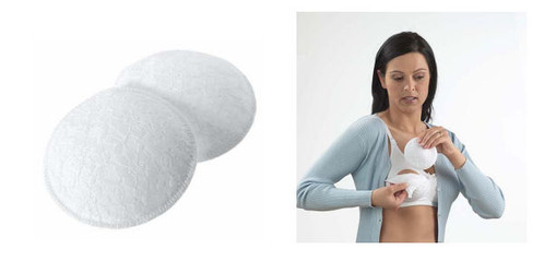 Medela 4 Pack Washable Breast Pads | mysite-1