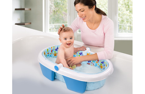 Summer Infant-Newborn-to-Toddler Folding Bath Tub   home