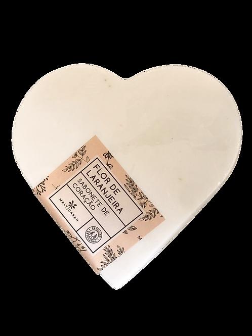 Sabonete Coração - Flor de Laranjeira