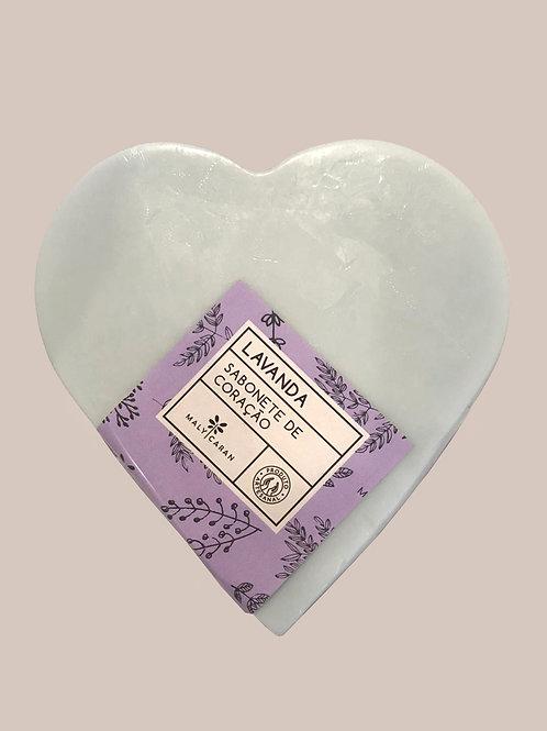 Sabonete Coração - Lavanda